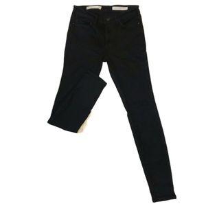 Pilcro and the Letterpress High Rise Black Jean 25